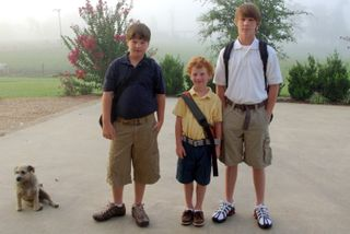 1st day of school 09